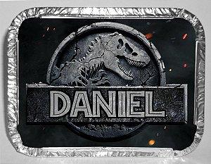 Marmitinha personalizada Jurassic World Dinossauro