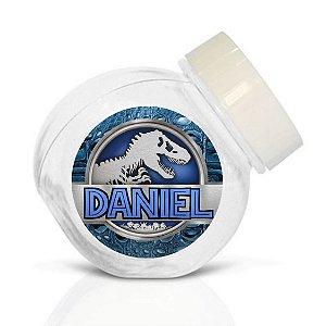 Embalagem com 40 adesivos baleirinho Jurassic World Dinossauro