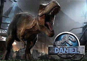 Painel TNT Jurassic World Dinossauro 004