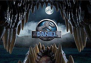 Painel TNT Jurassic World Dinossauro 001