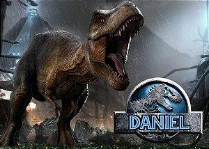 Painel TNT 1,40mx1m Jurassic World Dinossauro 004