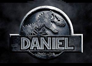 Painel TNT 1,40mx1m Jurassic World Dinossauro 002
