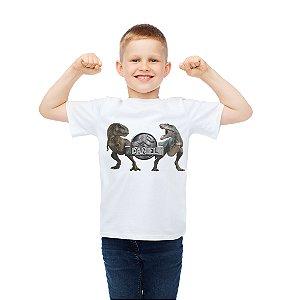 Camiseta Infantil Jurassic World Dinossauro