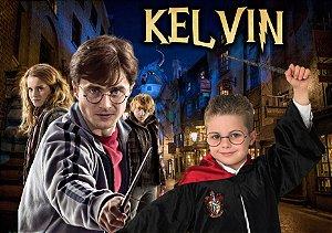 Painel TNT Harry Potter com foto