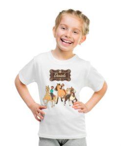 Camiseta Infantil Spirit Riding Free
