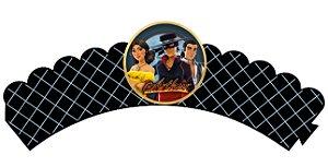 Pacote com 6 Wrappers Zorro