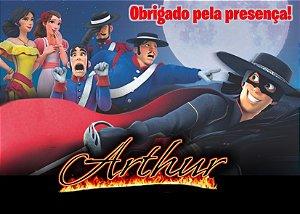 Cartão de Agradecimento Zorro
