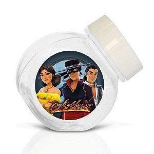 Embalagem com 40 adesivos baleirinho Zorro