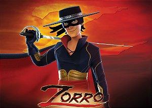 Painel TNT 1,40mx1m Zorro 002