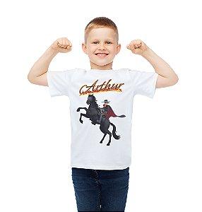 Camiseta Infantil Zorro