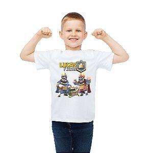 Camiseta Infantil Clash Royale