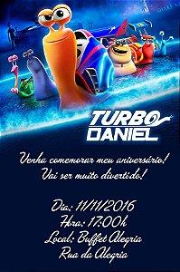 Convite digital personalizado Turbo Fast 006