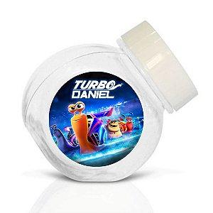 Embalagem com 40 adesivos baleirinho Turbo Fast