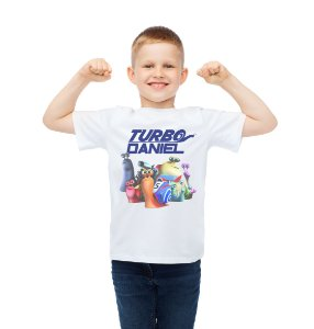 Camiseta Infantil Turbo Fast
