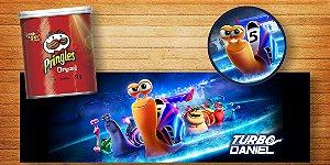 Adesivo personalizado para Batata Pringles  Turbo Fast