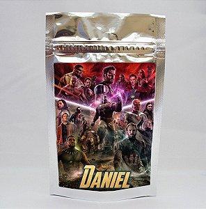 Adesivo para saco metalizado Vingadores: Guerra Infinita