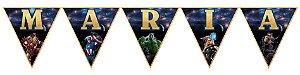 Bandeirinha Personalizada Vingadores: Guerra Infinita