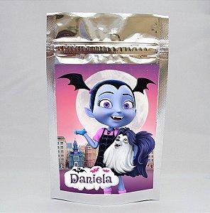 Adesivo para saco metalizado Vampirina