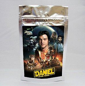 Saco metalizado com tag e corrente Han Solo: Uma História Star Wars