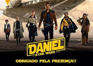 Cartão de Agradecimento Han Solo: Uma História Star Wars
