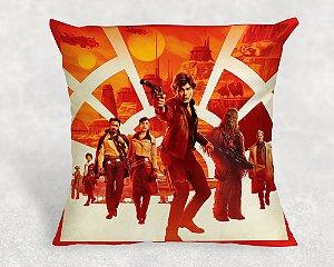 Almofada Personalizada para festa Han Solo: Uma História Star Wars 001