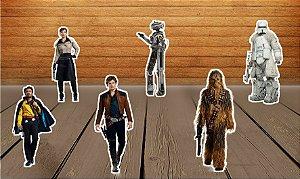 Totens de Mesa Han Solo: Uma História Star Wars