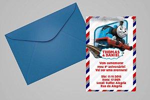 Convite 10x15 Thomas e Seus Amigos 006