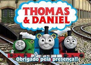 Cartão de Agradecimento Thomas e Seus Amigos