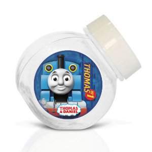 Embalagem com 40 adesivos baleirinho Thomas e Seus Amigos