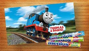 Adesivo para Mentos Thomas e Seus Amigos