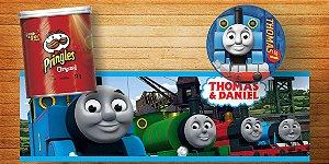 Adesivo personalizado para Batata Pringles Thomas e Seus Amigos