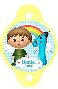 Tag para canudinho Baby TV Charlie e os números