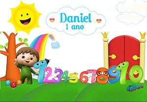 Painel TNT Baby TV Charlie e os números