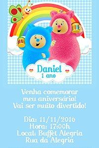 Convite digital personalizado Baby TV Bili Bam Bam 041