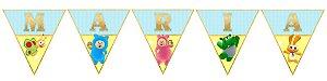 Bandeirinha Personalizada Baby TV Bili Bam Bam