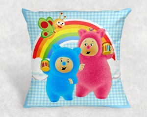 Almofada Personalizada para festa  Baby TV Bili Bam Bam
