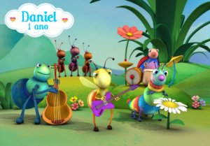 Painel TNT  Baby TV Big Bugs Band