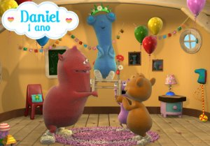 Painel TNT  Baby TV Cuddlies