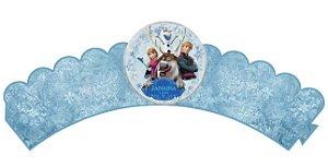 Pacote com 6 Wrappers Frozen - O Reino do Gelo