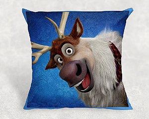 Almofada Personalizada para festa Frozen - O Reino do Gelo 006