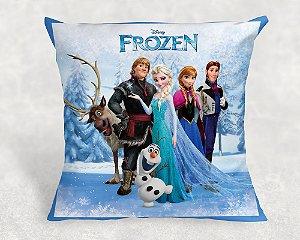 Almofada Personalizada para festa Frozen - O Reino do Gelo 001