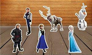 Totens de Mesa Frozen - O Reino do Gelo