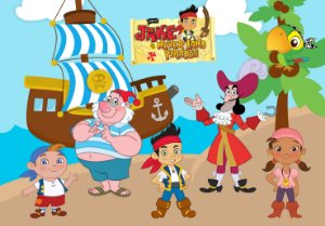 Painel TNT Jake e os Piratas da Terra do Nunca 002