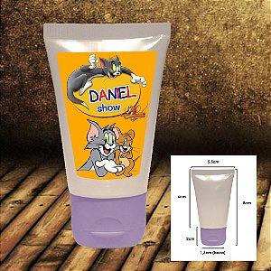 Adesivo para Bisnaga Plástica 30gr Tom e Jerry