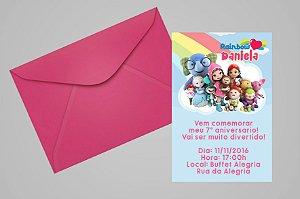 Convite 10x15 Rainbow Ruby 002