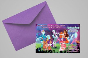 Convite 10x15 Enchantimals 001
