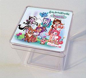 Adesivo caixinha acrílica 5x5 Enchantimals