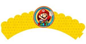 Pacote com 6 Wrappers Super Mario