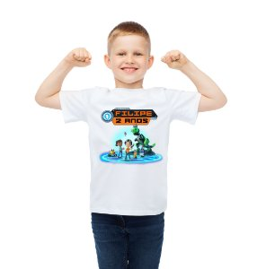 Camiseta Infantil Rusty Rivets