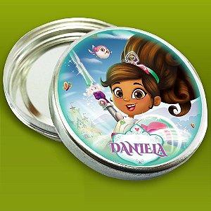 Embalagem com 20 adesivos Nella, uma Princesa Corajosa